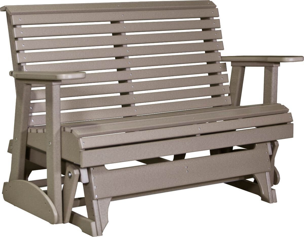 Weatherwood Cape Lookout Patio Glider Bench
