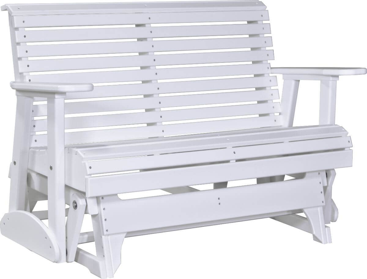 White Cape Lookout Patio Glider Bench