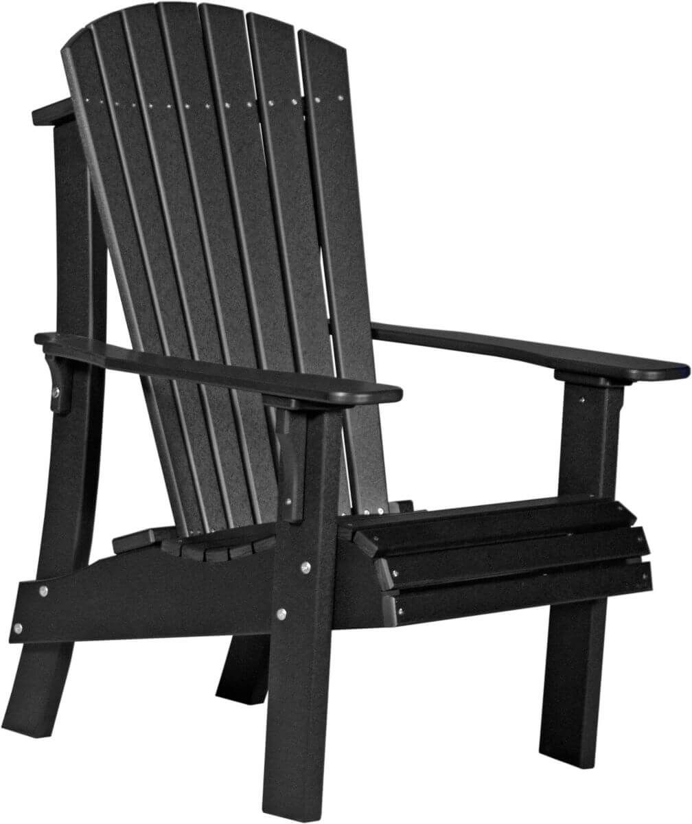Black Rockaway Highback Adirondack Chair