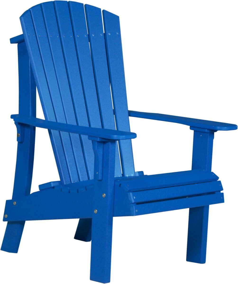Blue Rockaway Highback Adirondack Chair