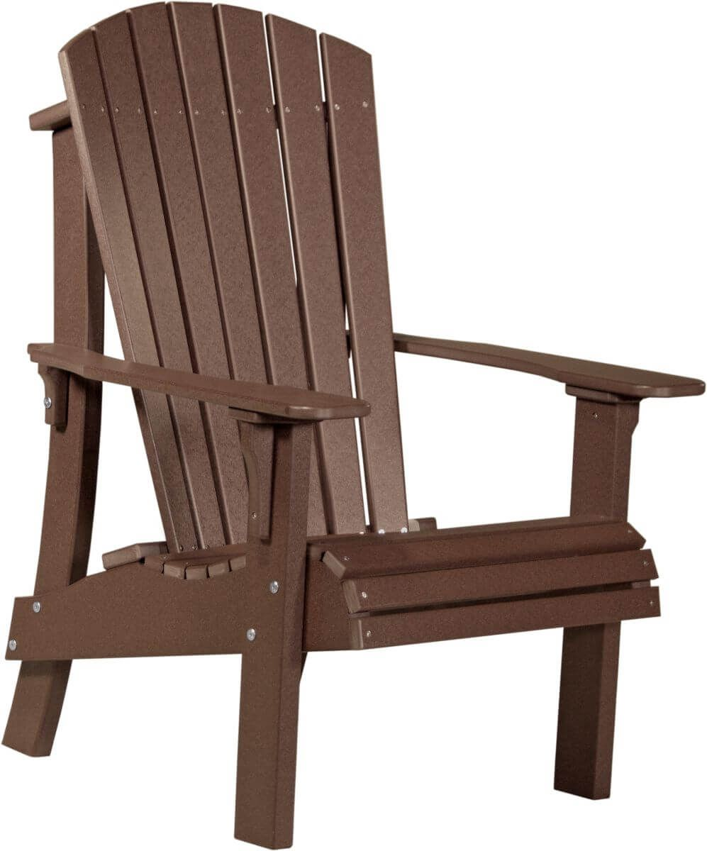 Chestnut Brown Rockaway Highback Adirondack Chair