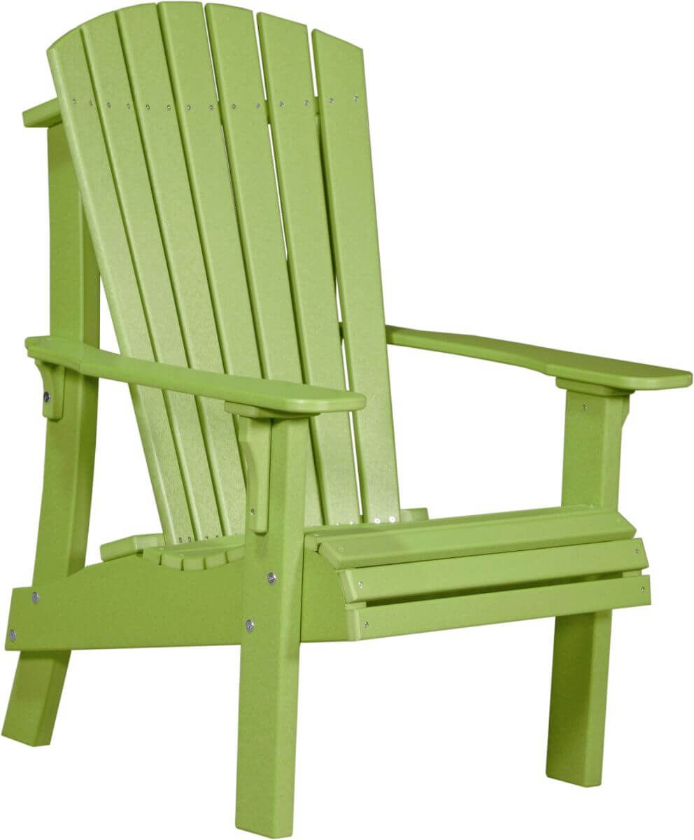 Lime Green Rockaway Highback Adirondack Chair