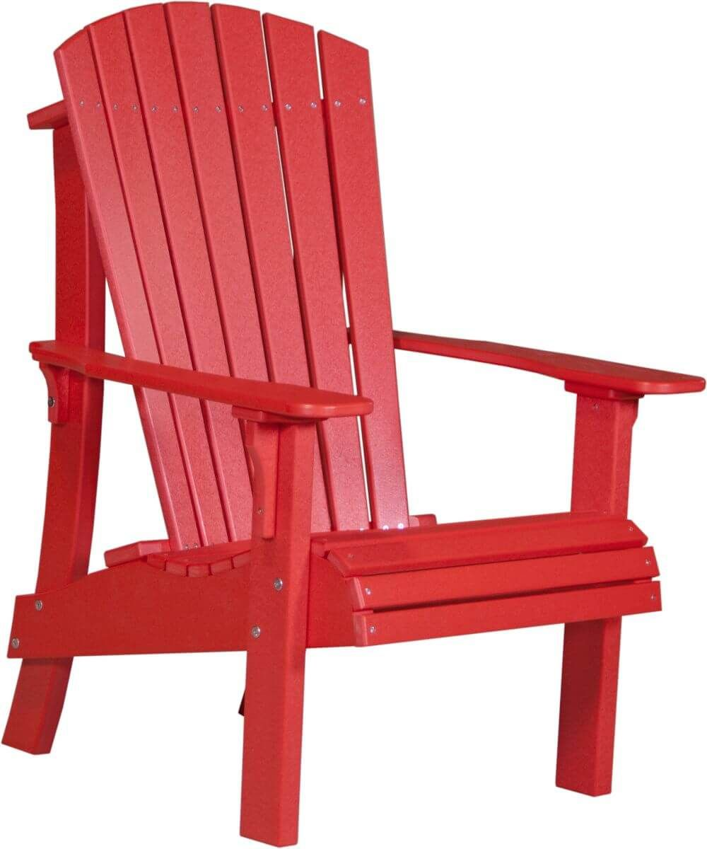 Red Rockaway Highback Adirondack Chair
