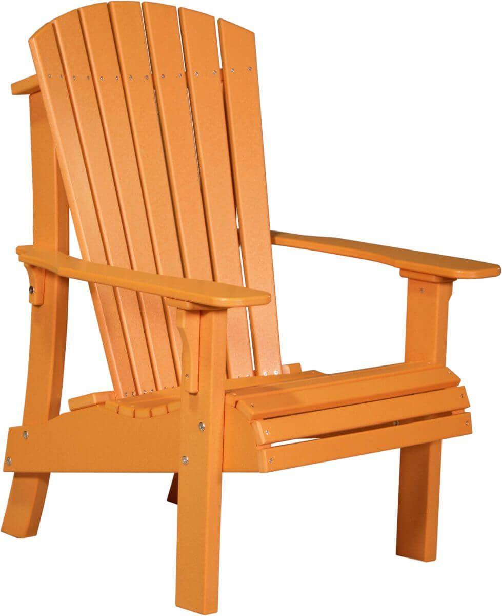 Tangerine Rockaway Highback Adirondack Chair