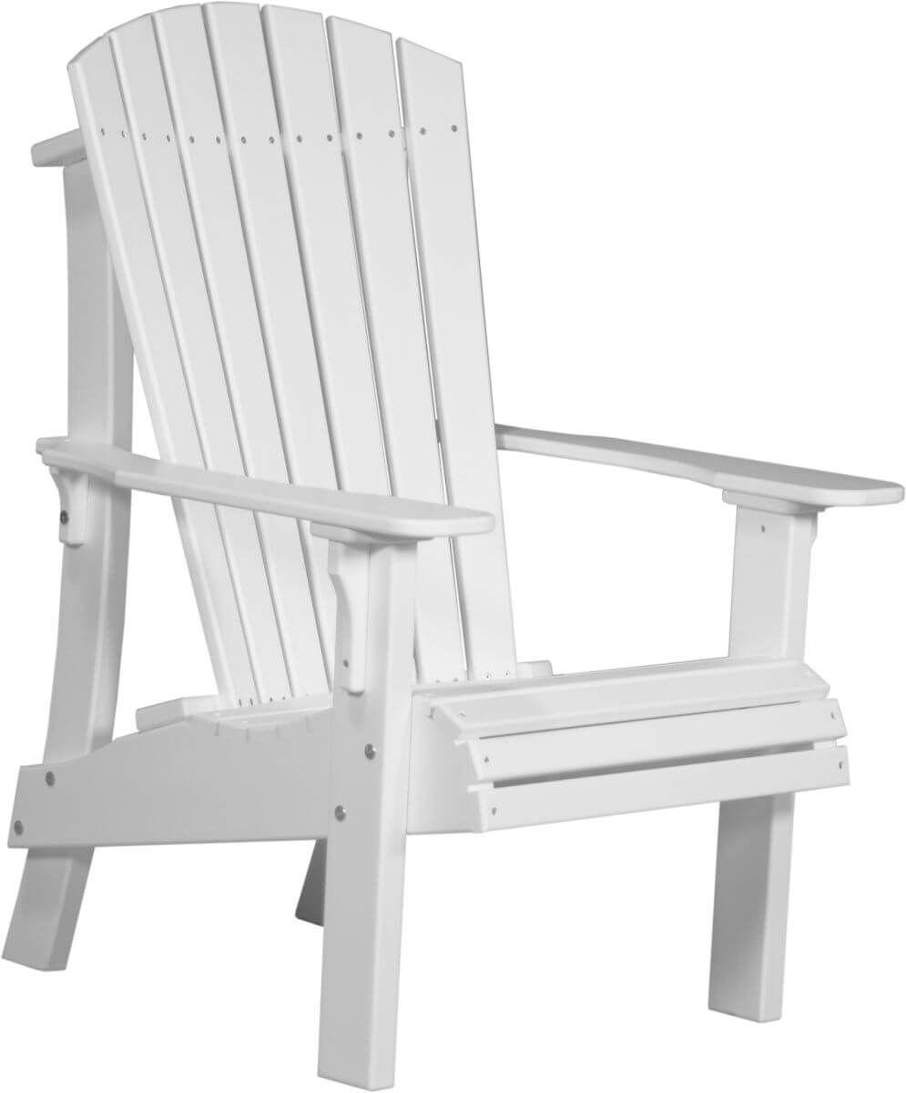 White Rockaway Highback Adirondack Chair
