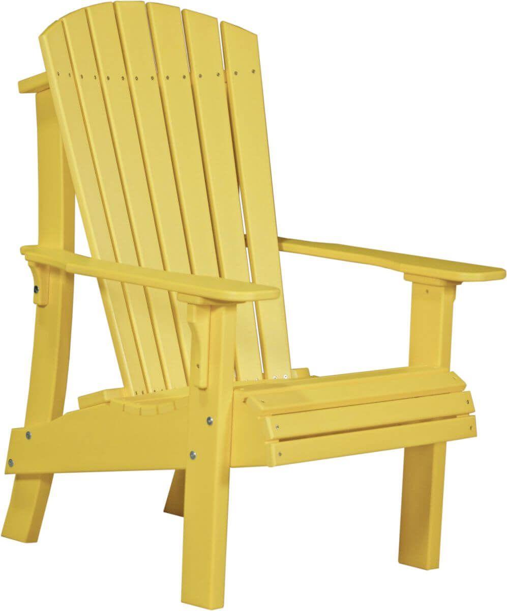 Yellow Rockaway Highback Adirondack Chair