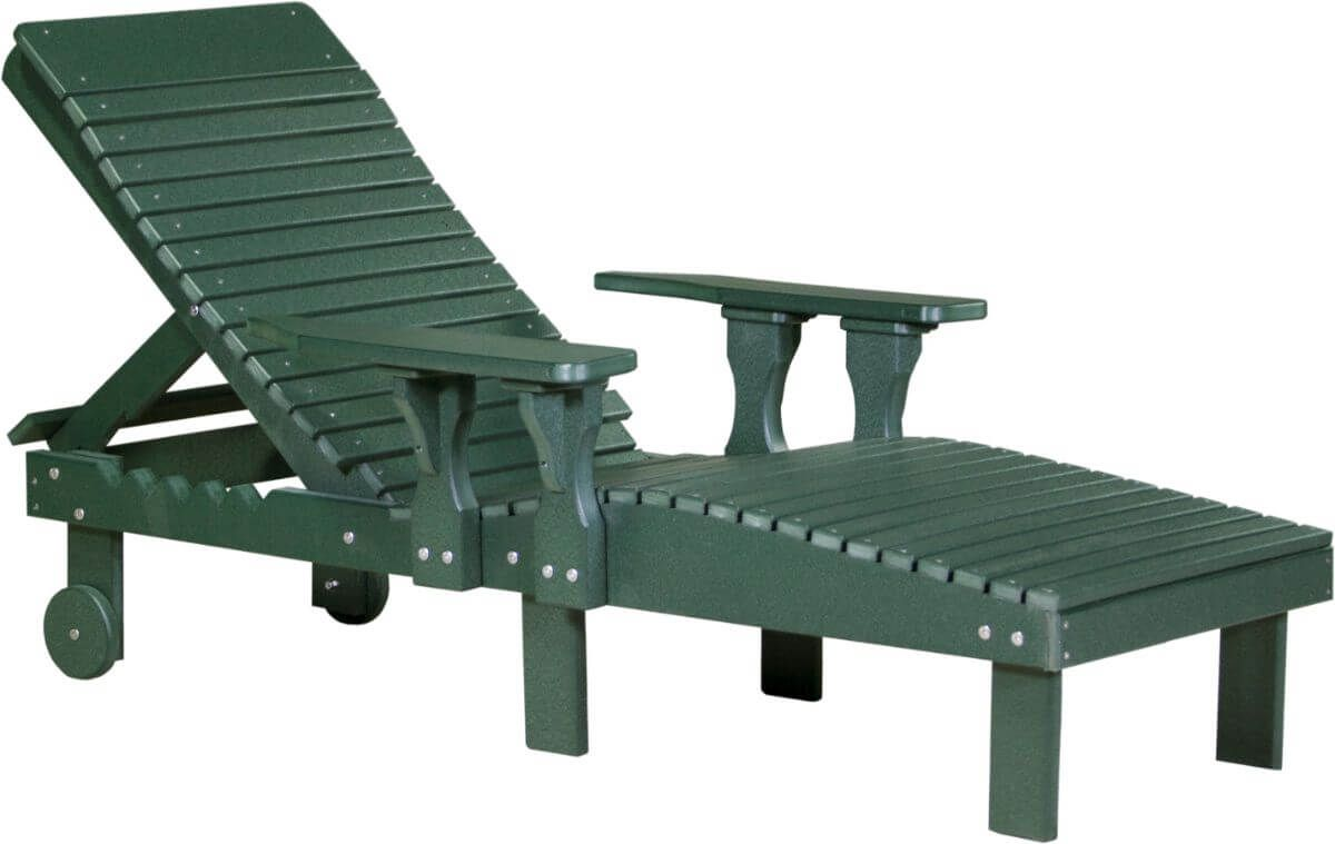 Green Pigeon Point Poly Lounge Chair