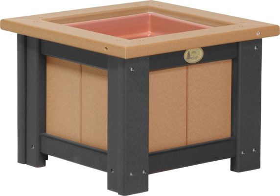 Cedar and Black Pigeon Point Commercial Outdoor Planter