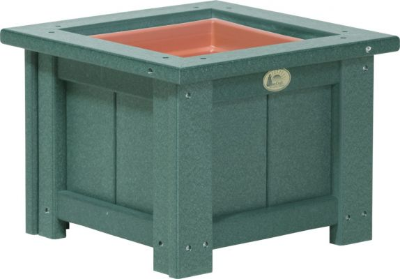 Green Pigeon Point Commercial Outdoor Planter