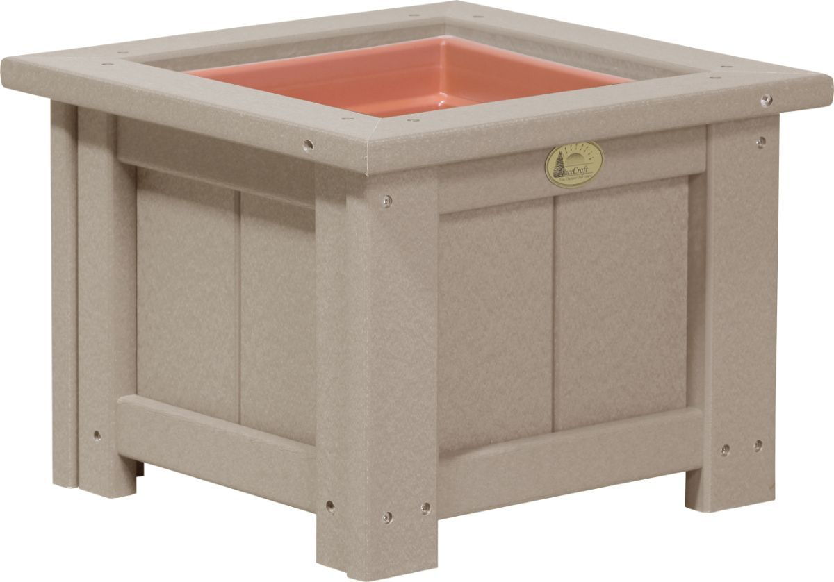 Weatherwood Pigeon Point Commercial Outdoor Planter