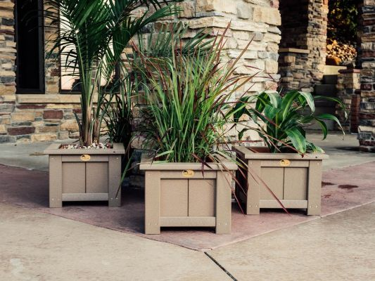 American Made Poly Planters