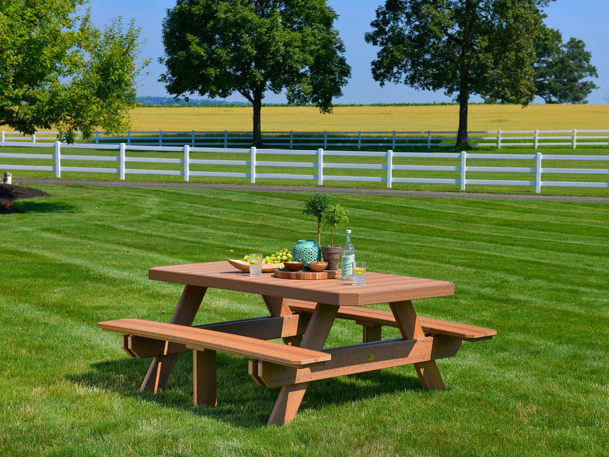 Poly Lumber Picnic Table
