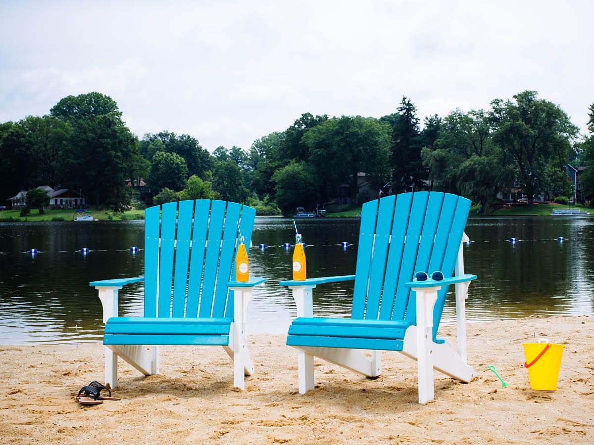 Two Tone Rockaway Adirondack Chairs