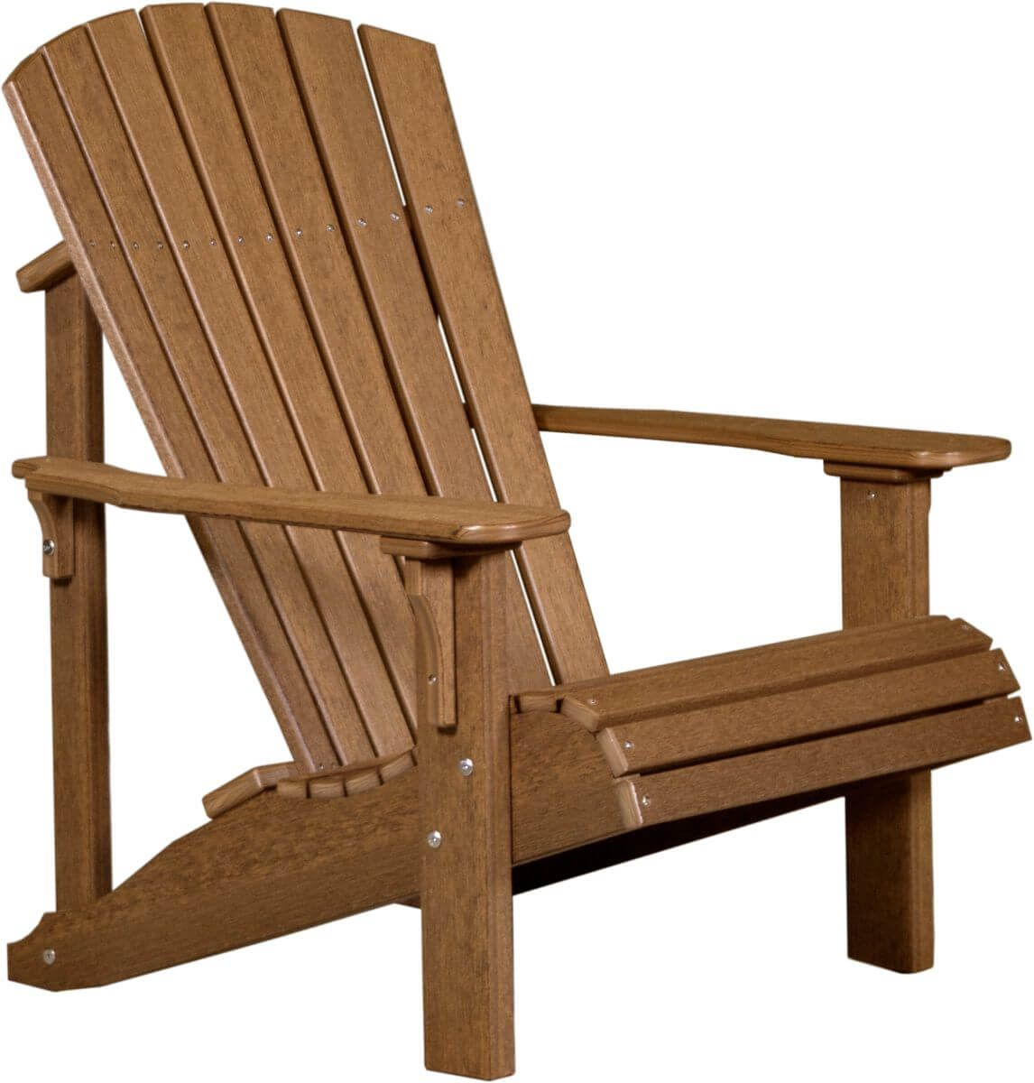 Antique Mahogany Rockaway Adirondack Chair