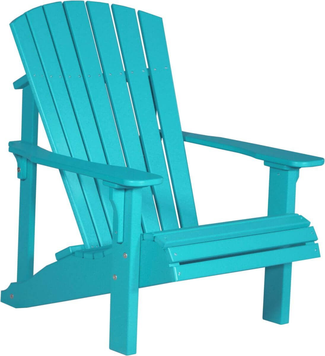 Aruba Blue Rockaway Adirondack Chair