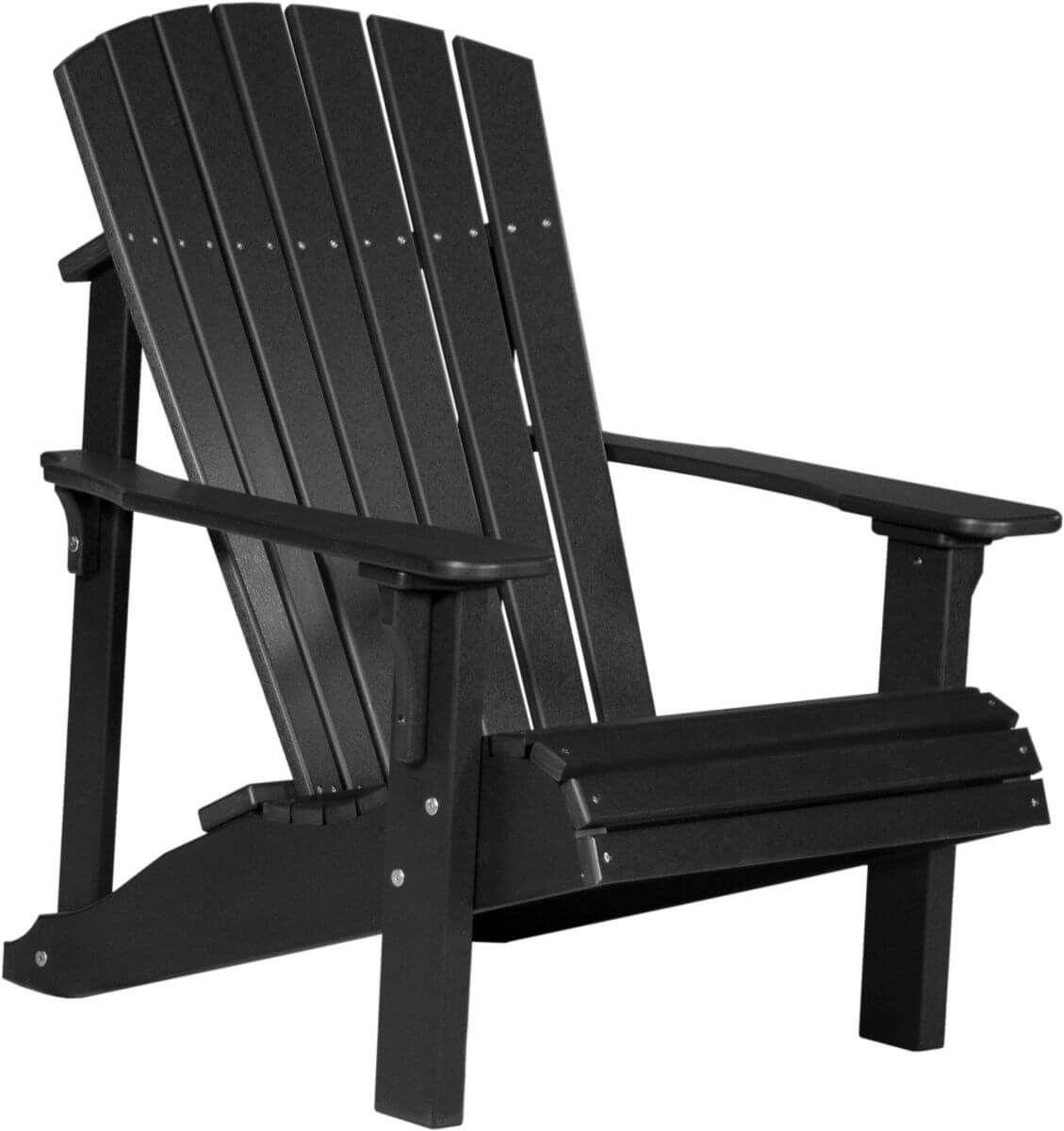 Black Rockaway Adirondack Chair