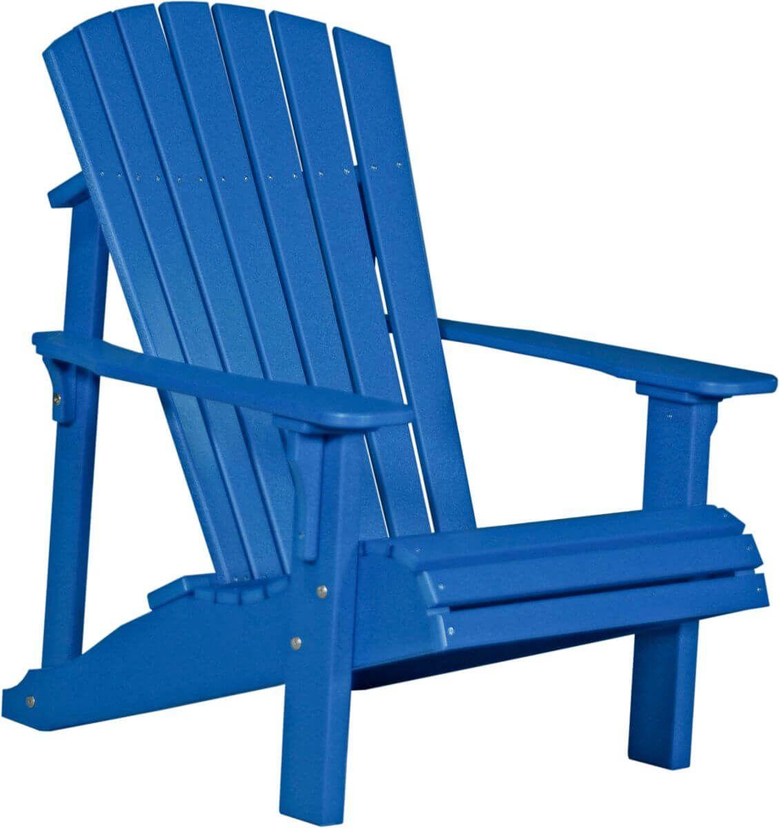 Blue Rockaway Adirondack Chair