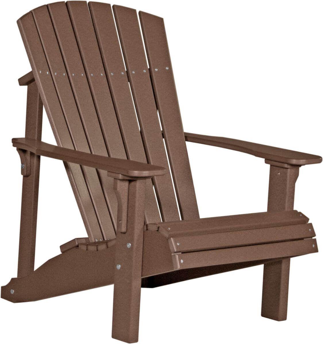 Chestnut Brown Rockaway Adirondack Chair