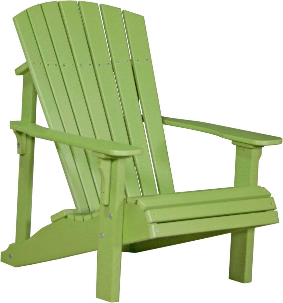 Lime Green Rockaway Adirondack Chair