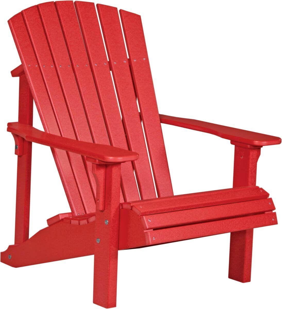 Red Rockaway Adirondack Chair