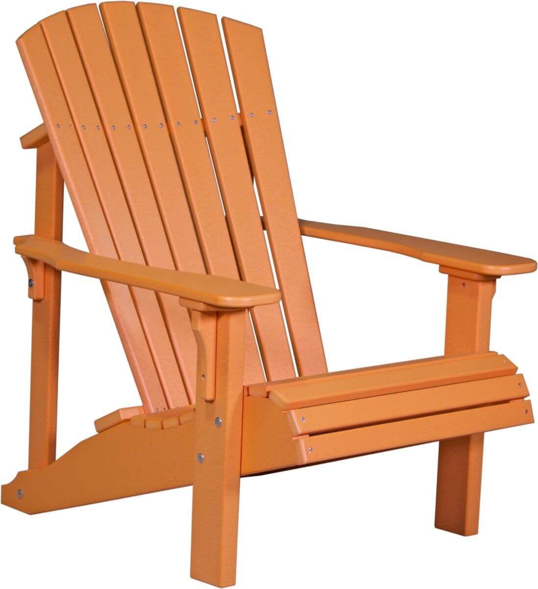 Tangerine Rockaway Adirondack Chair