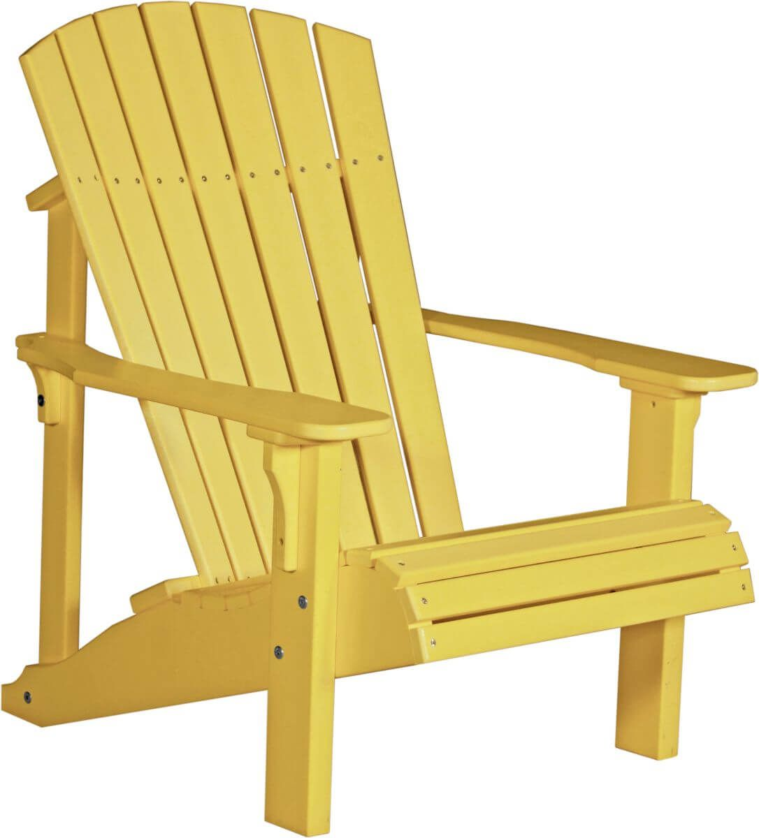 Yellow Rockaway Adirondack Chair