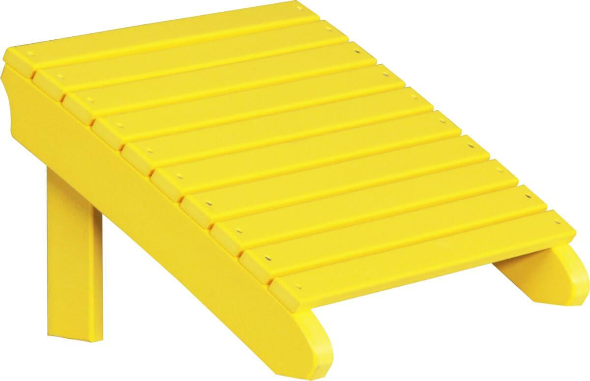 Yellow Rockaway Adirondack Footrest