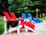 Rockaway Adirondack Chair and Footrest