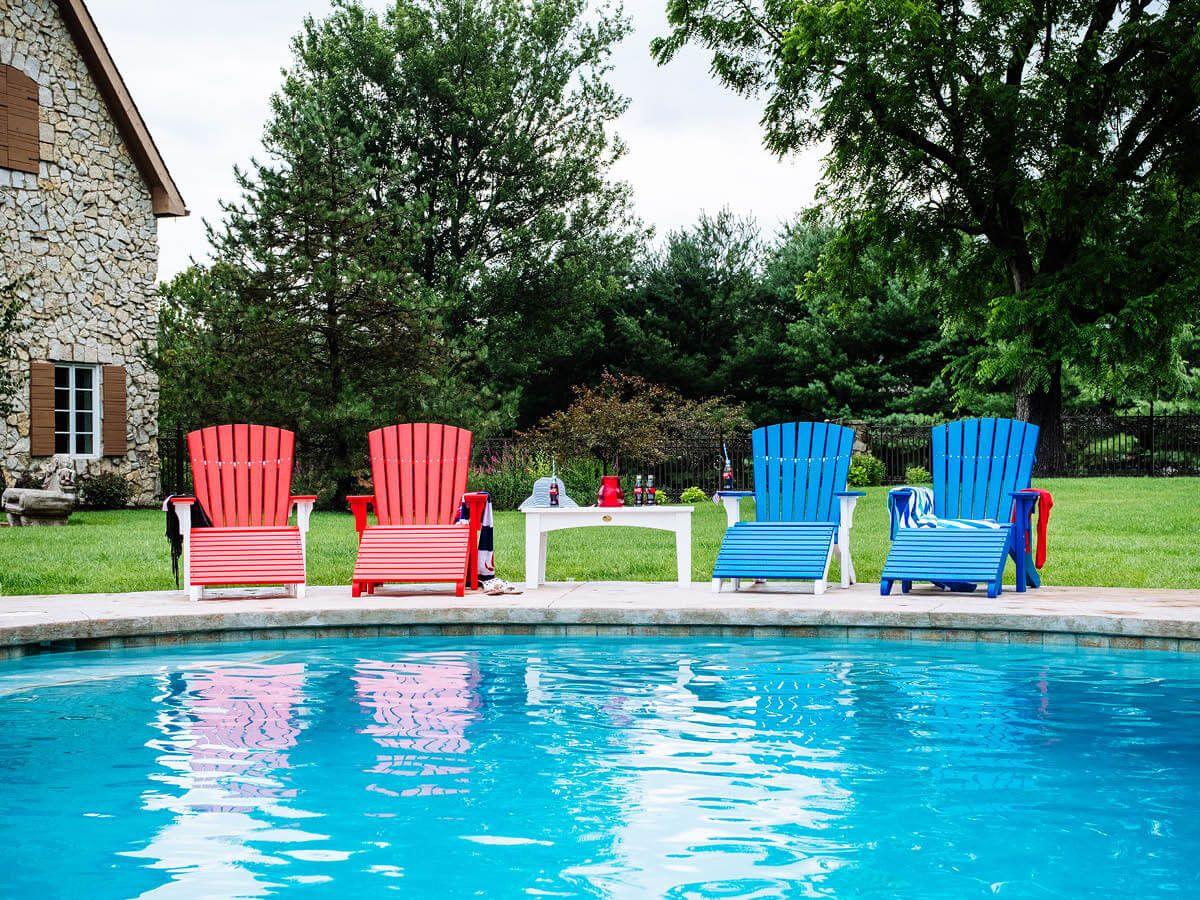 Custom Poly Adirondack Chairs