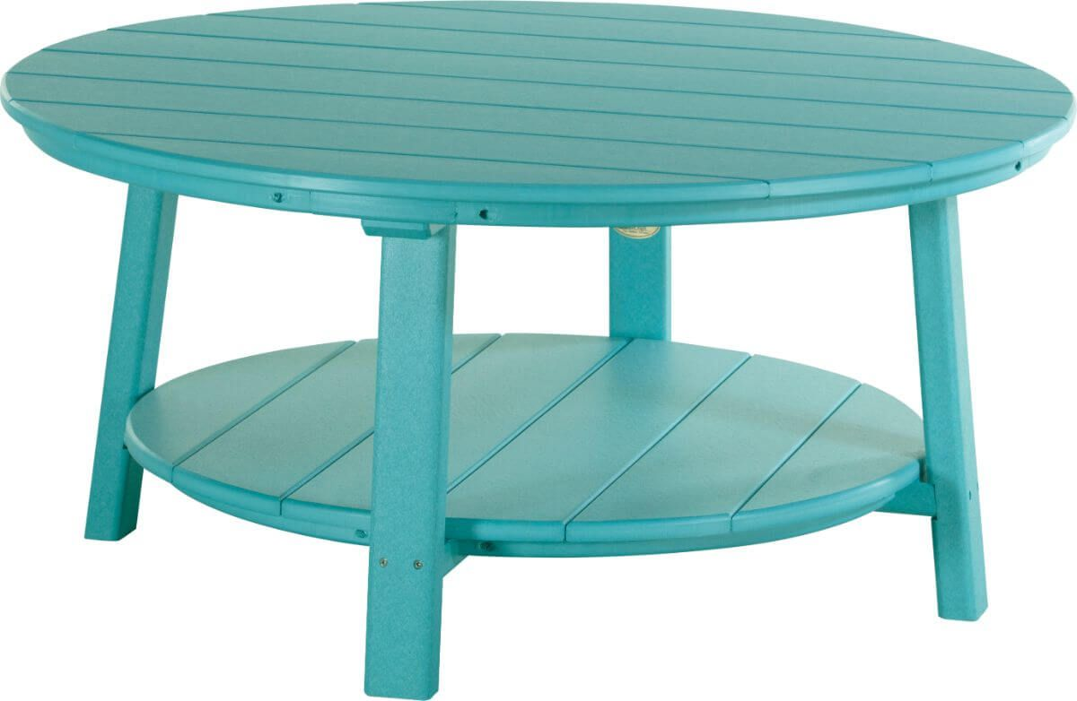 Aruba Blue Rockaway Outdoor Coffee Table