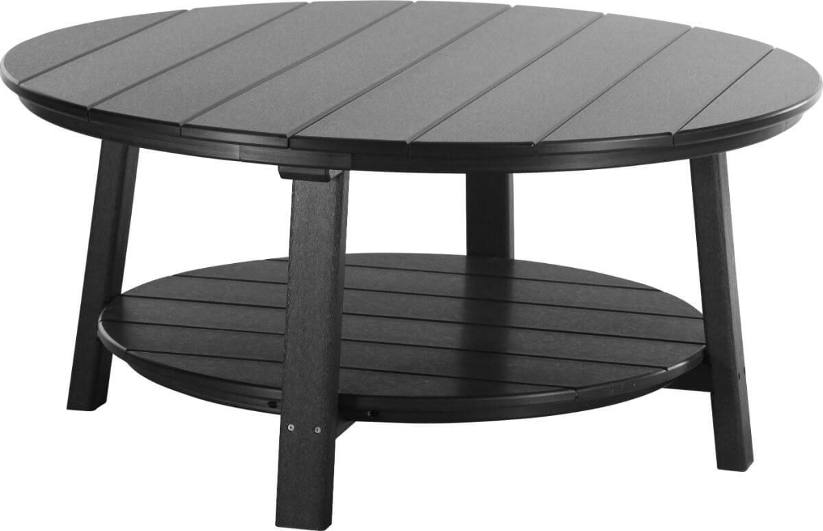 Black Rockaway Outdoor Coffee Table