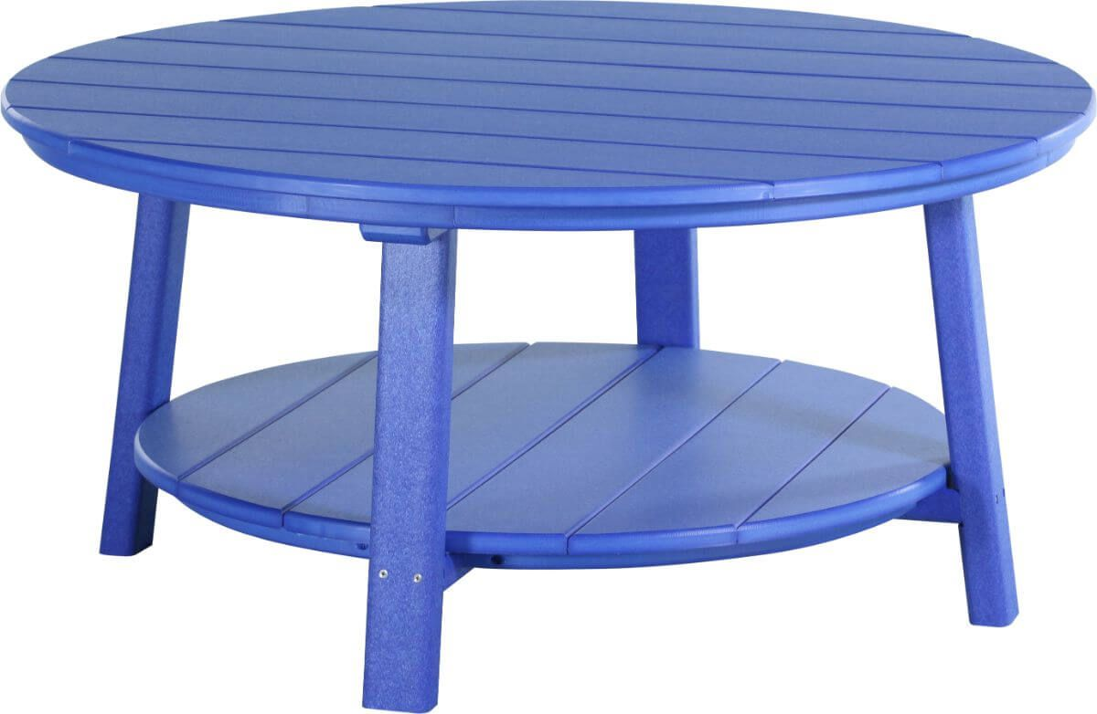 Blue Rockaway Outdoor Coffee Table