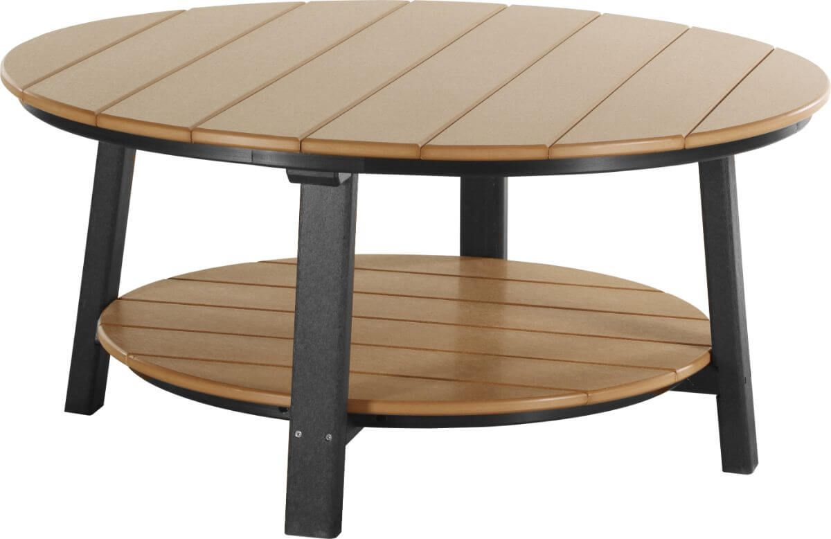 Cedar and Black Rockaway Outdoor Coffee Table