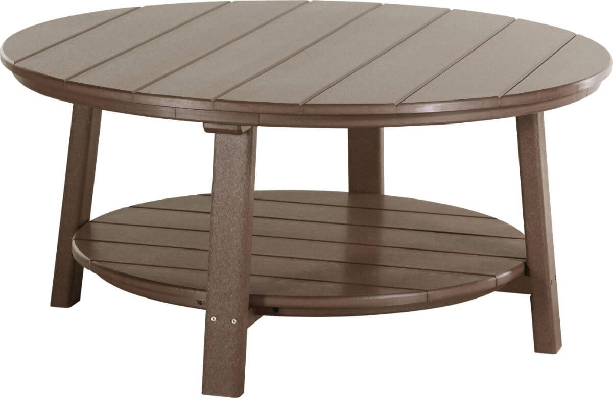 Chestnut Brown Rockaway Outdoor Coffee Table