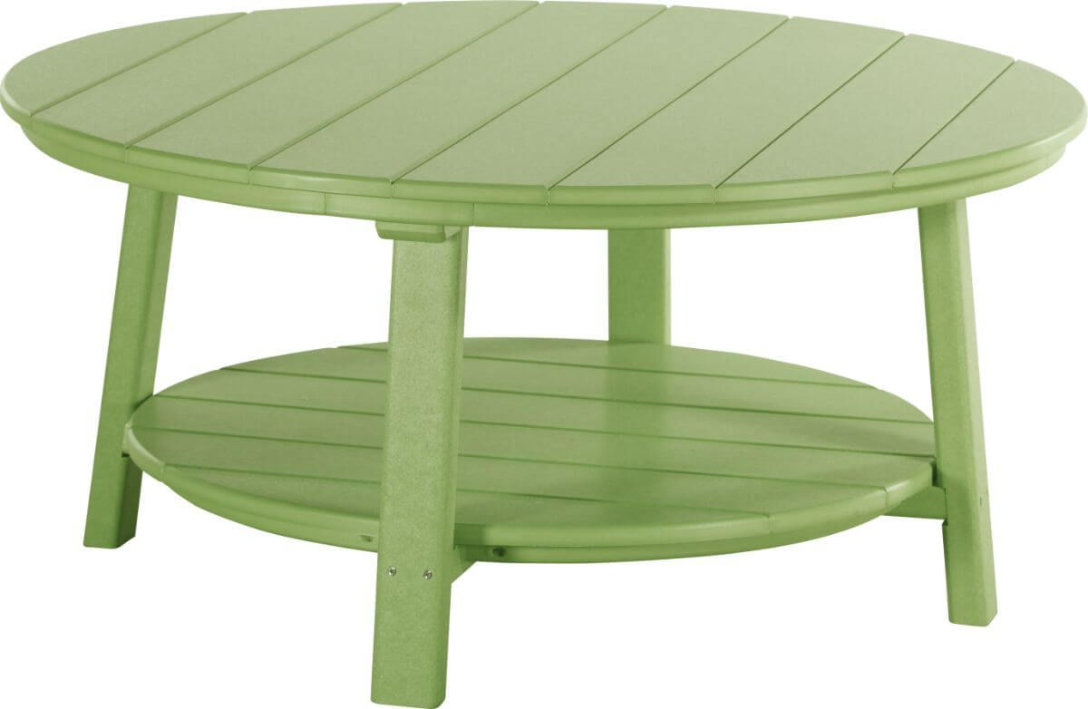 Lime Green Rockaway Outdoor Coffee Table
