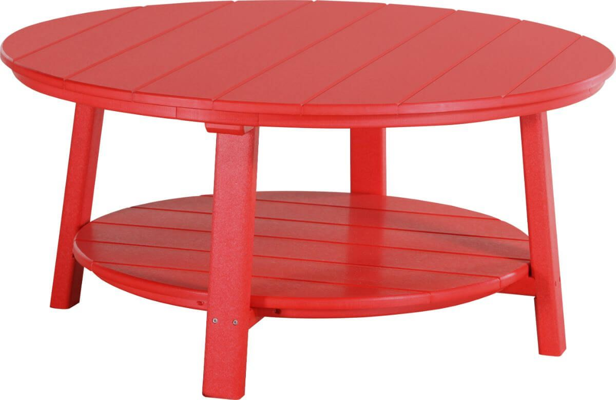 Red Rockaway Outdoor Coffee Table