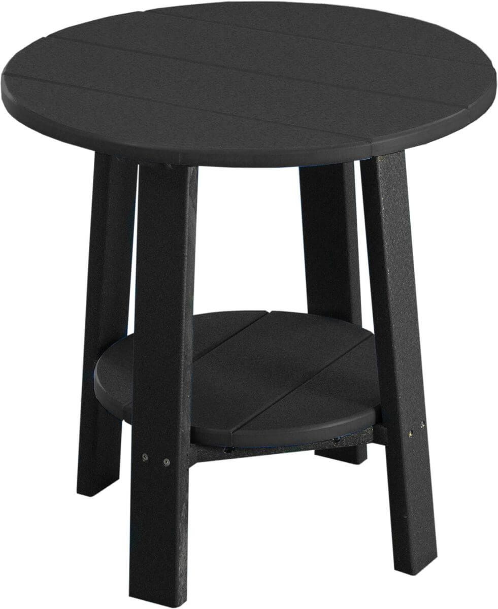 Black Rockaway Outdoor Side Table