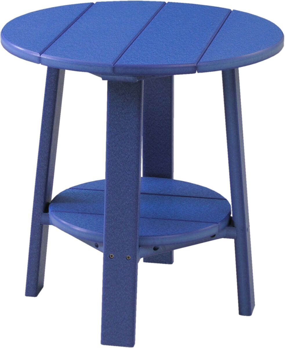 Blue Rockaway Outdoor Side Table
