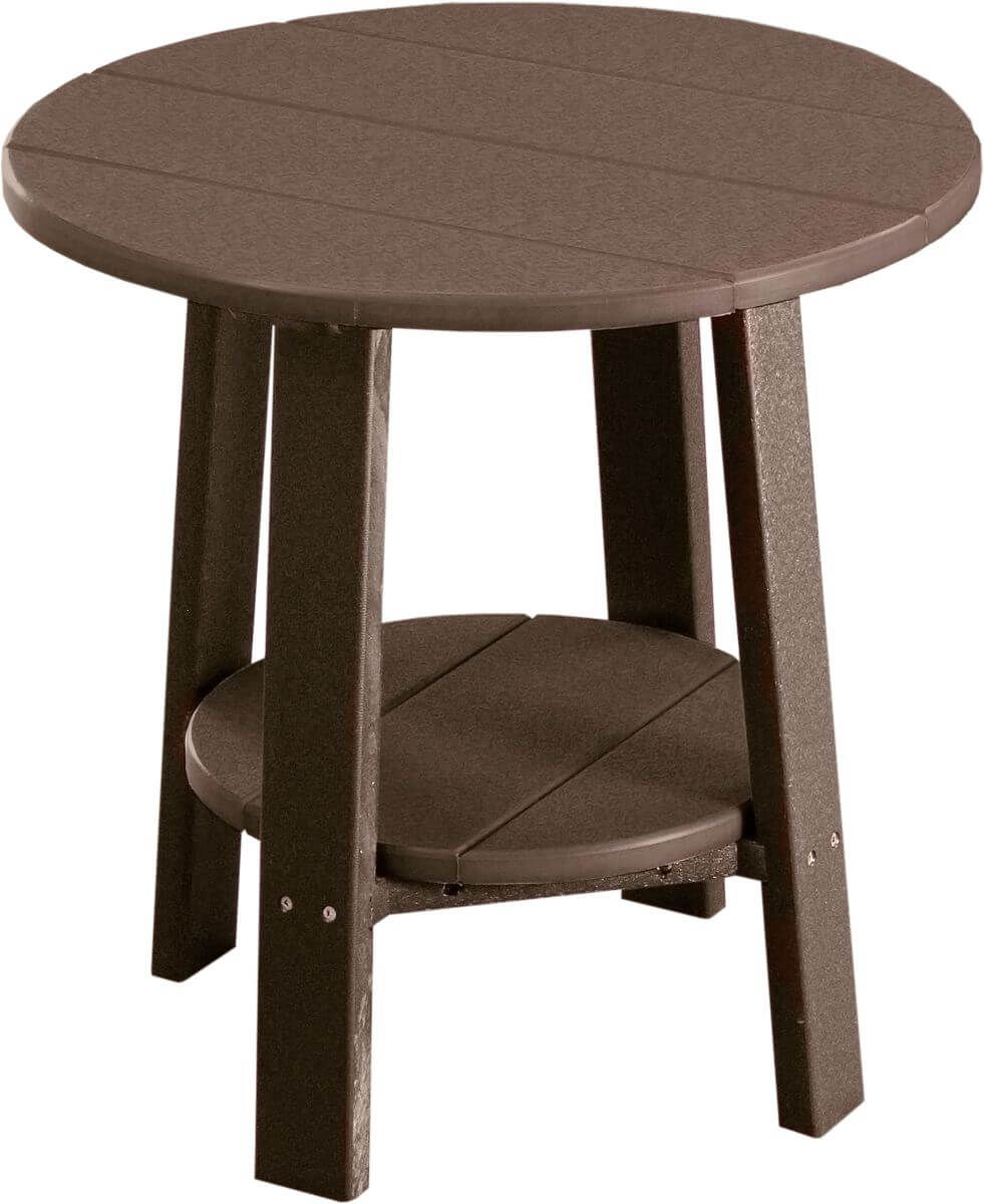 Chestnut Brown Rockaway Outdoor Side Table