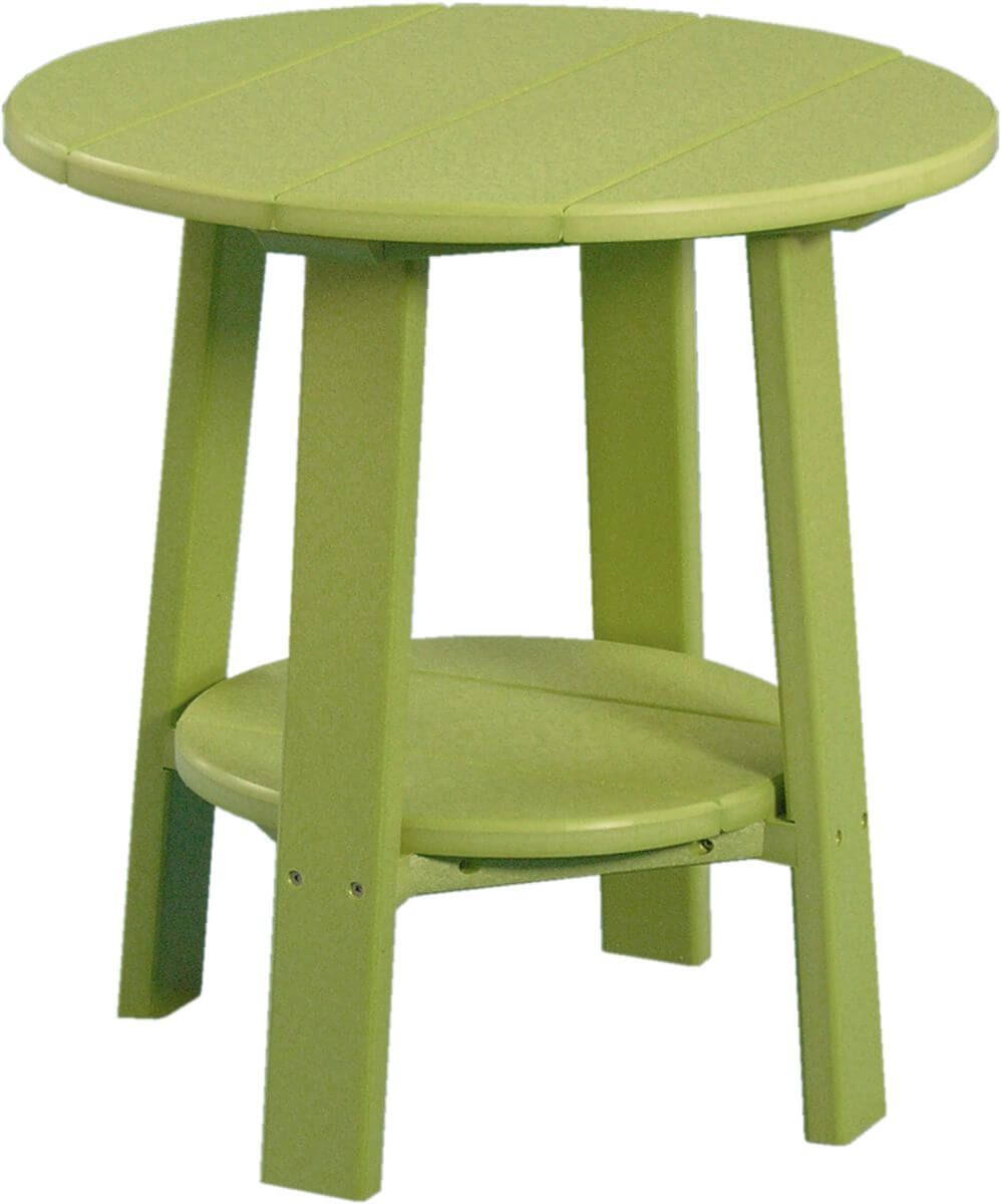 Lime Green Rockaway Outdoor Side Table