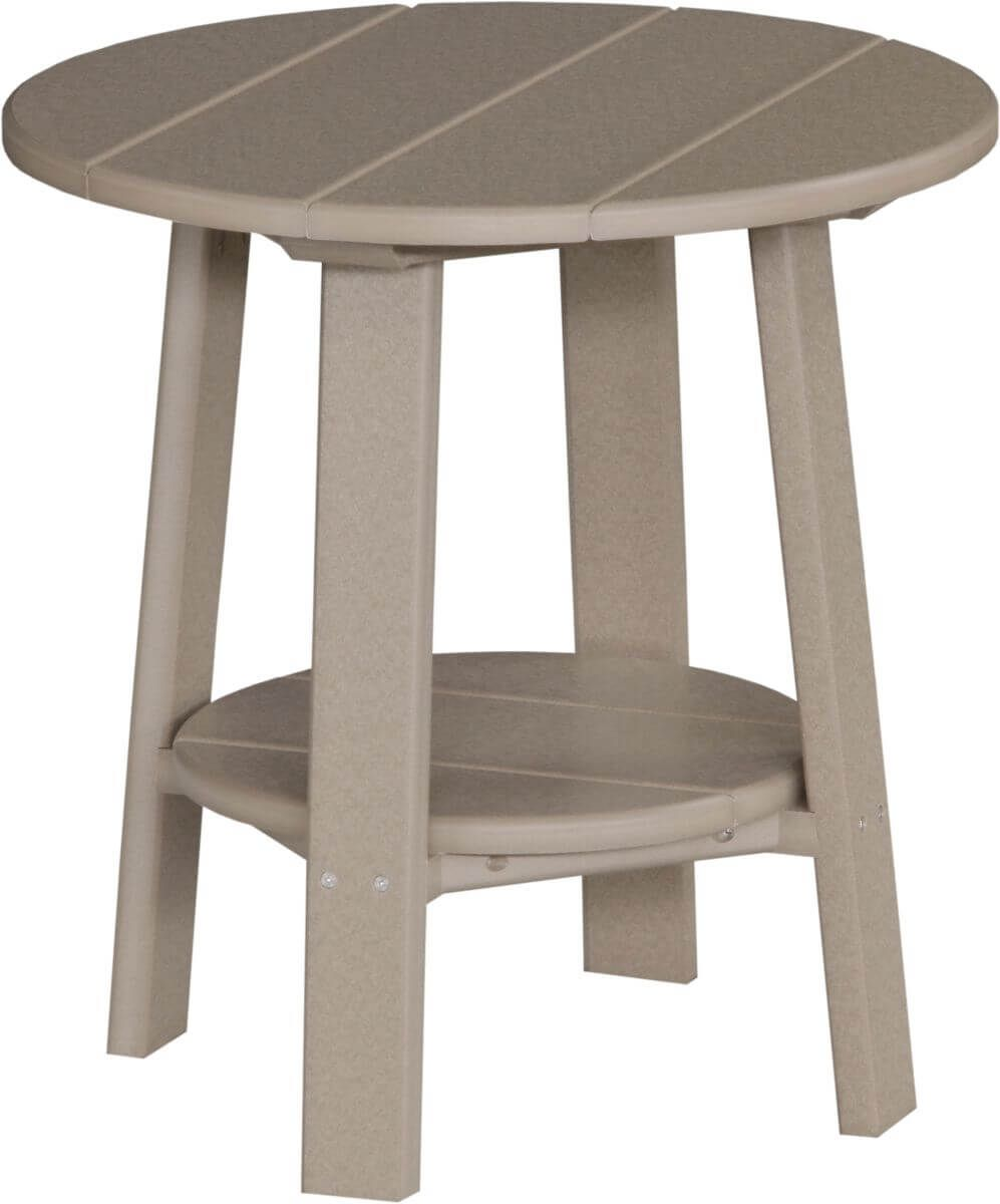 Weatherwood Rockaway Outdoor Side Table