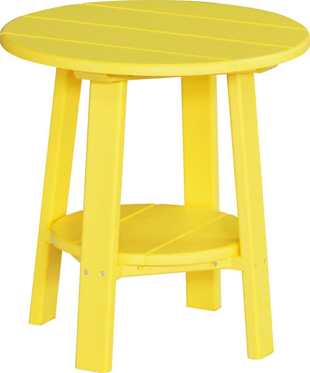 Yellow Rockaway Outdoor Side Table