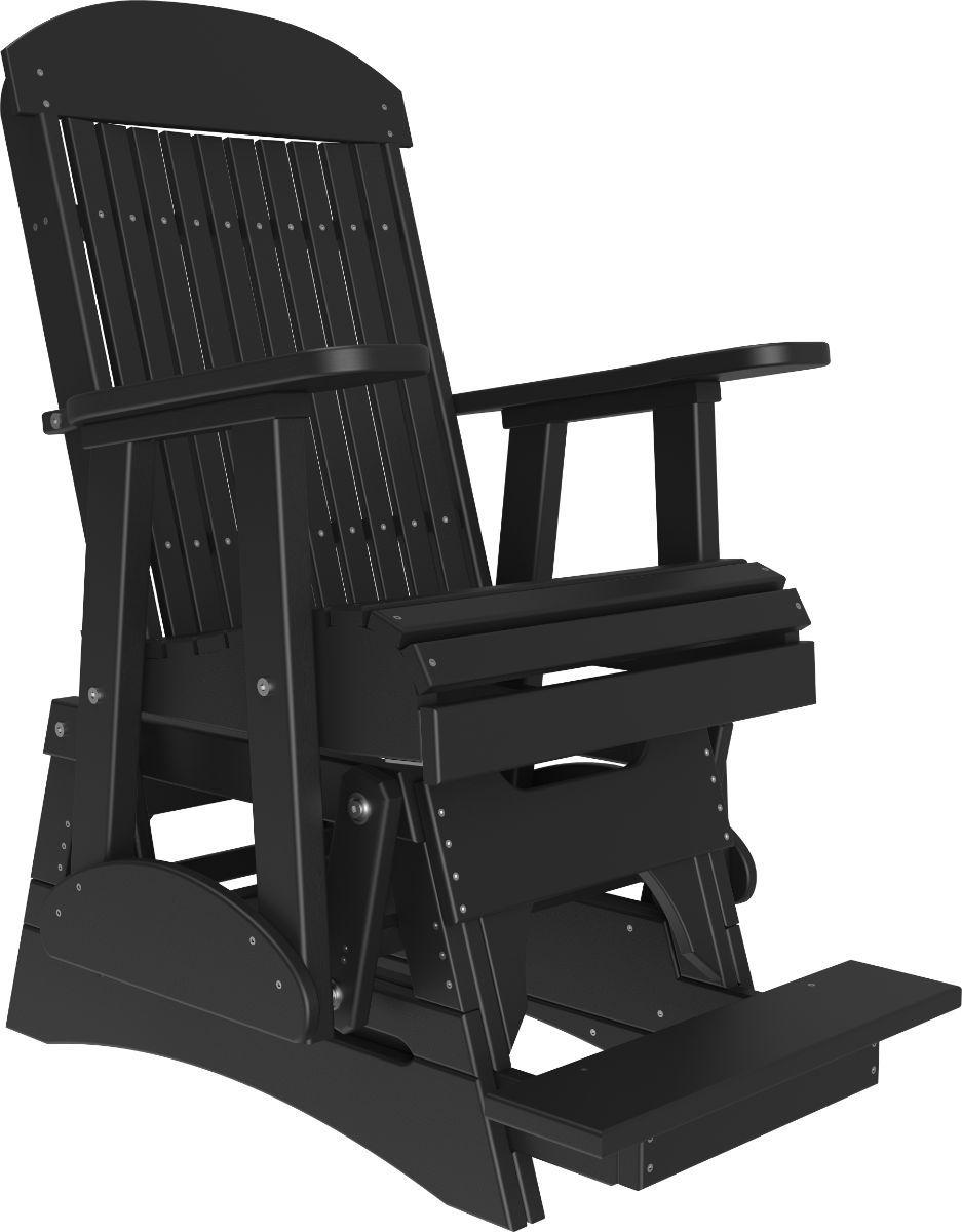 Black Stockton Balcony Glider