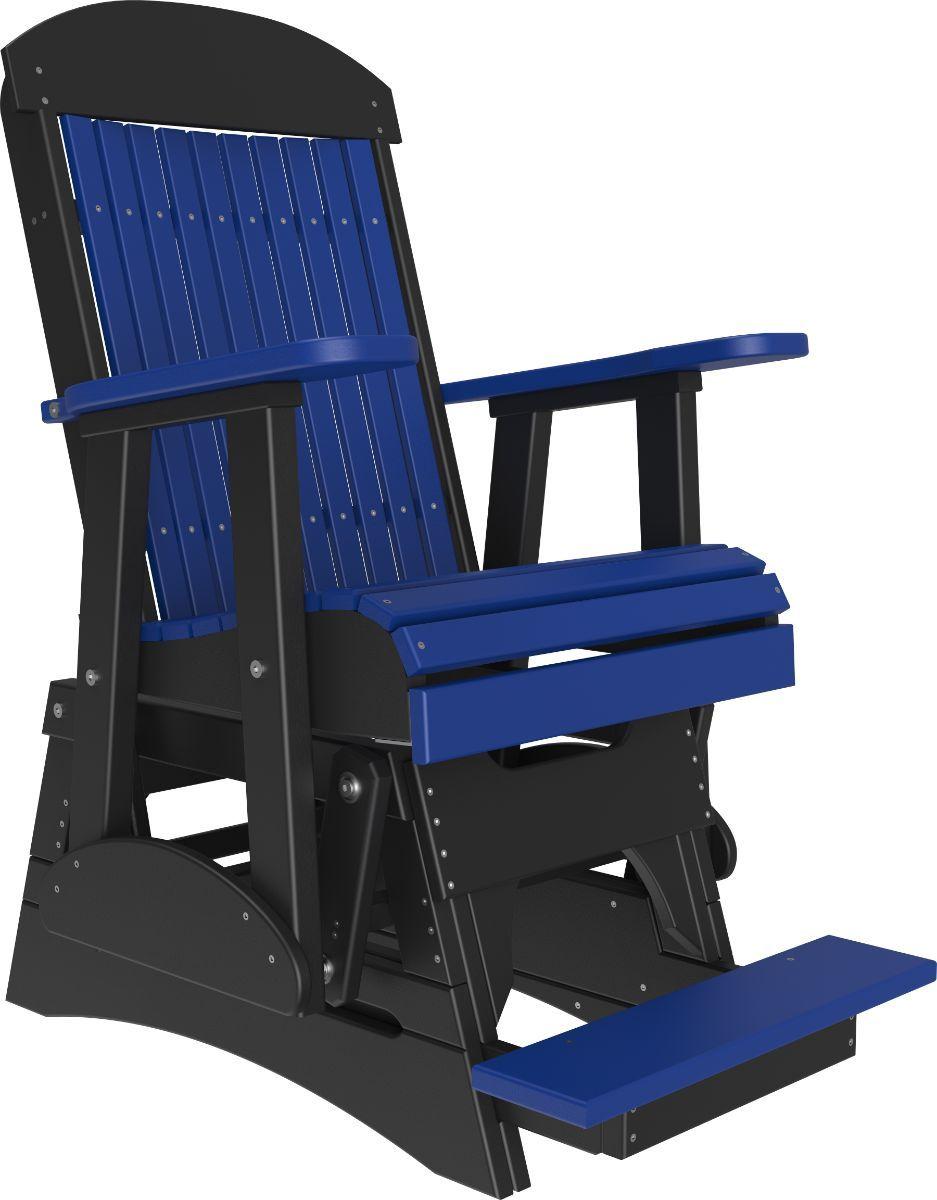 Blue and Black Stockton Balcony Glider