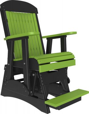 Lime Green and Black Stockton Balcony Glider
