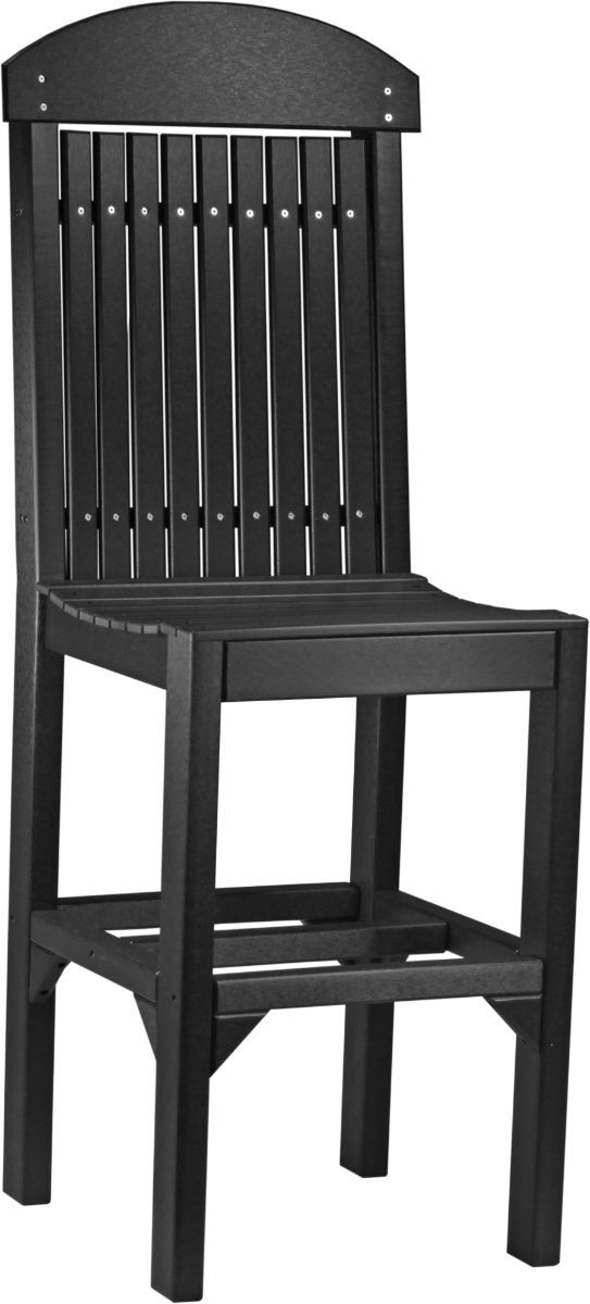 Black Stockton Outdoor Bar Chair