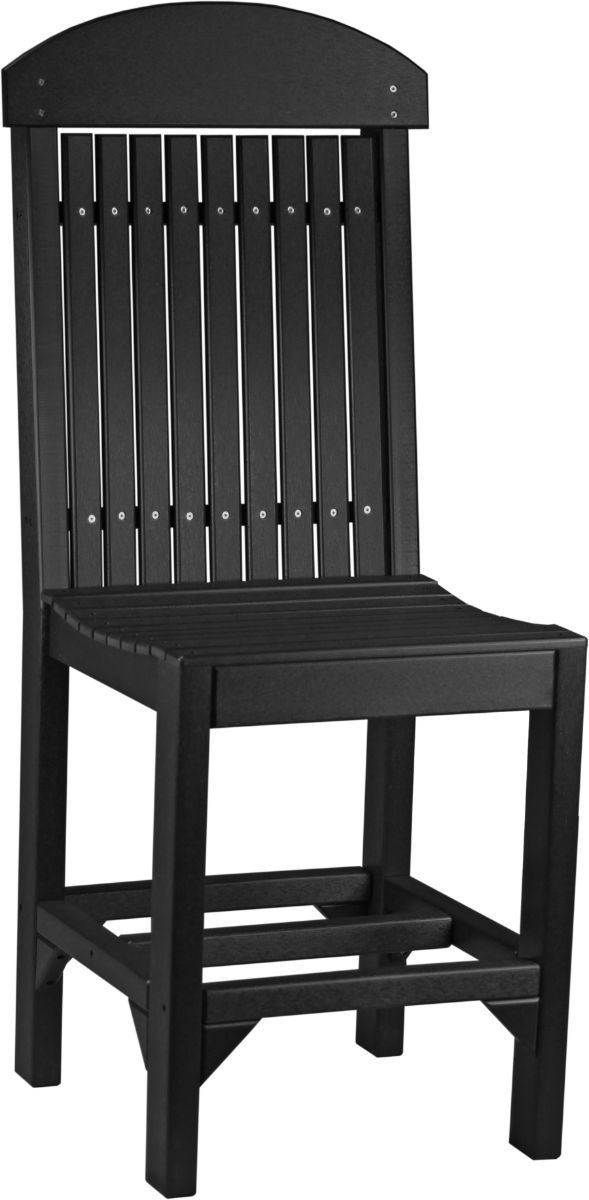 Black Stockton Outdoor Counter Chair