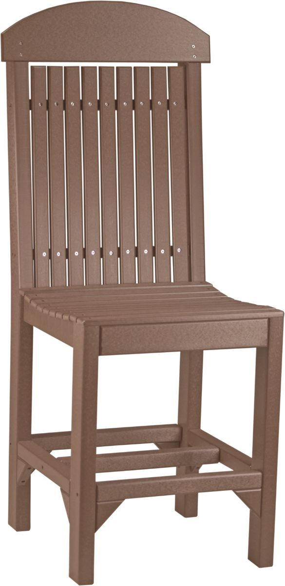 Chestnut Brown Stockton Outdoor Bar Chair
