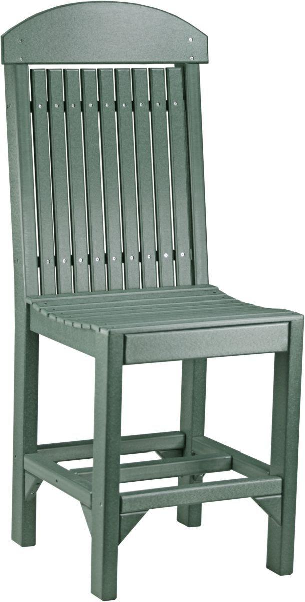Green Stockton Outdoor Bar Chair