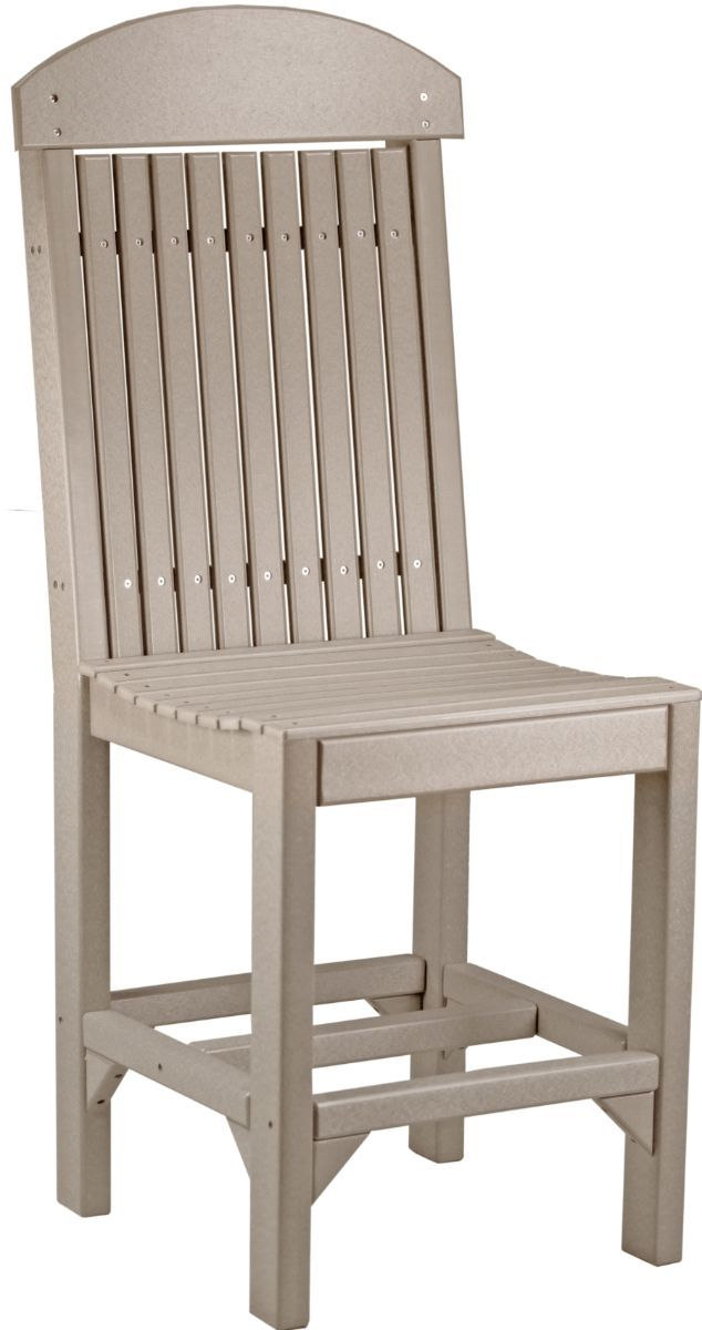 Weatherwood Stockton Outdoor Bar Chair